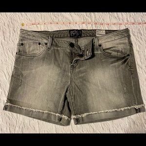 Fox Denim Gray Shorts